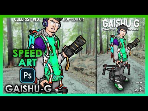 SpeedArt of Gaishu G , Director, Editor,VFX artist of Srilankan hit Hiphop songs