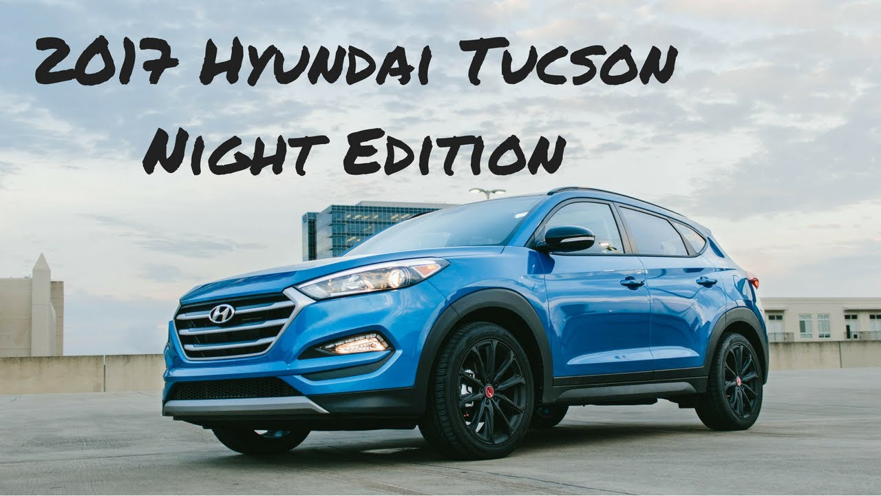 2017 hyundai tucson night edition review youtube. Black Bedroom Furniture Sets. Home Design Ideas