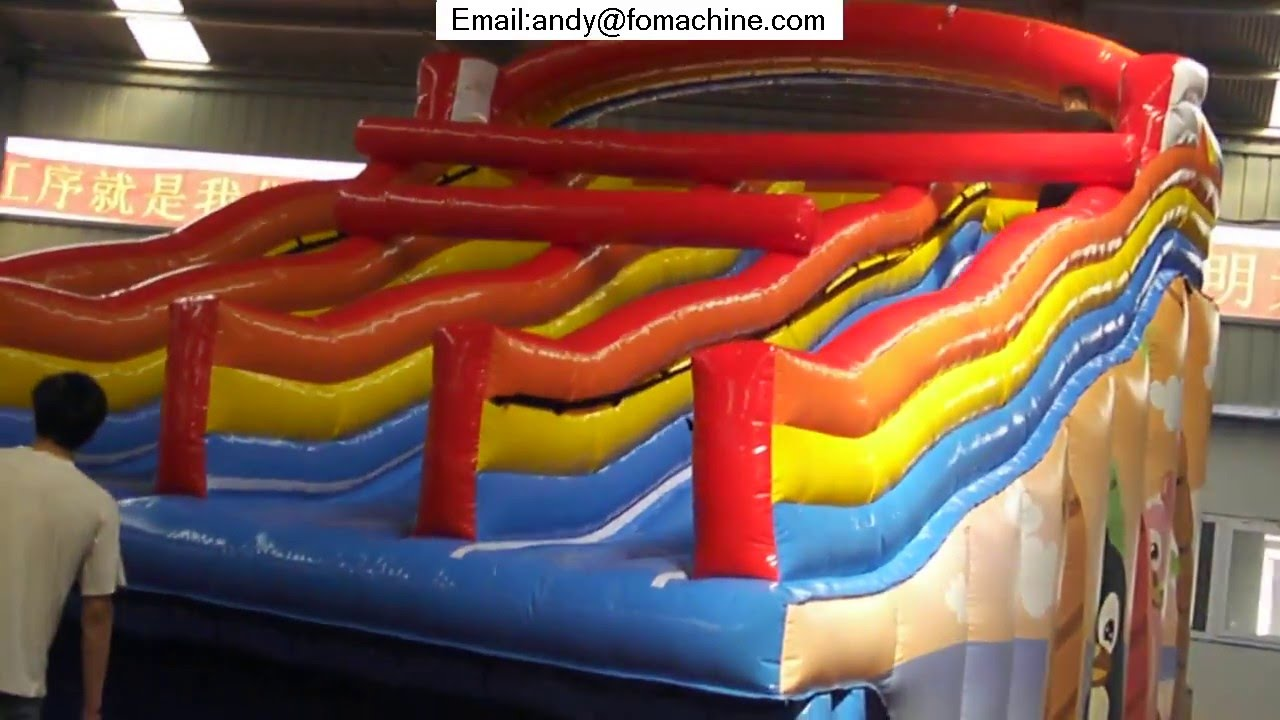 Inflatable Pool Slide Intex intex inflatable pool slide - youtube