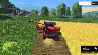 Farming Simulator 2015 - LS15 - s1e7 - Wielki case, wielkie żniwa