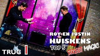 DE ZWEVENDE KOFFER - STREET MAGIC TOP 5 - TRUC 1 | ROY EN JUSTIN HUISKENS