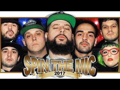 Spin The Mic 2017 Rap Battle ft Caustic, Unanymous, Zen, Frak, Pedro