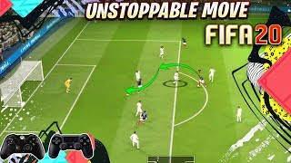 FIFA 20 NEW UNSTOPPABLE MOVE TO SCORE EASY GOALS - FIFA 20 TUTORIAL