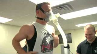 Exercise Physiologist Demonstrating VO2 Max Testing thumbnail