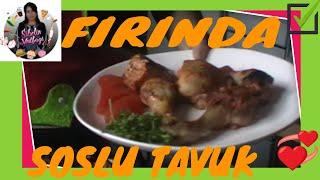 Fırında Soslu Tavuk Tarifi nasıl yapılır ? Sibelin mutfağı ile yemek tarifleri