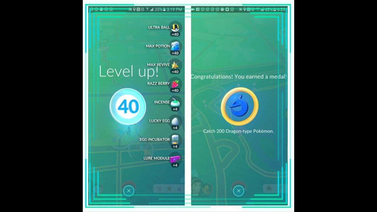 pokemon go level my achievements pokedex and top cp pokemon go level 40 my achievements pokedex and top cp