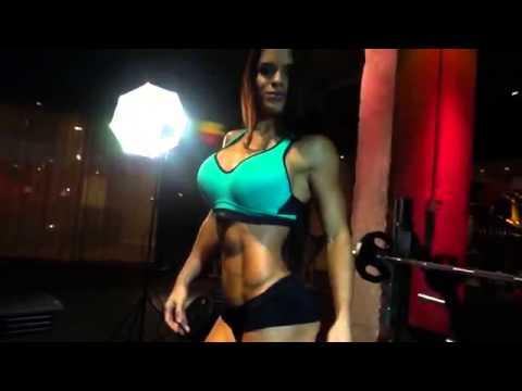 Michelle Lewin Muscular Development Photo/Video  Shoot