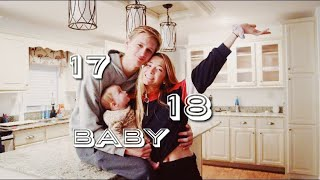 How we moved into our own house at 17 and 18 with a baby!! // TEEN MOM STORY TIME