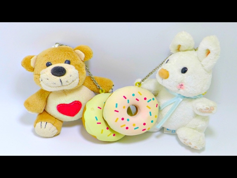 Suzy&39;s Zoo Plushy With Donut Squishy