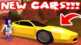 MONSTER TRUCK, FERRARI AND MUSTANG NEW CARS! (Roblox Jailbreak Update)