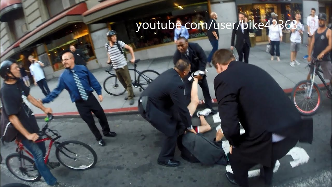 man assaulted by 3 security guards from westin st francis hotel in san francisco - Andrews International Security Guard