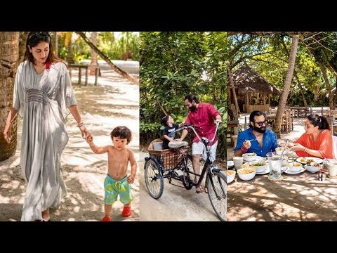 Taimur Ali Khan LATEST Vacation Pictures With Kareena Kapoor and Saif Ali Khan