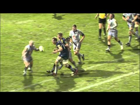 Leeds Carnegie vs Newcastle Falcons - Aviva Premiership Rugby 2010/11