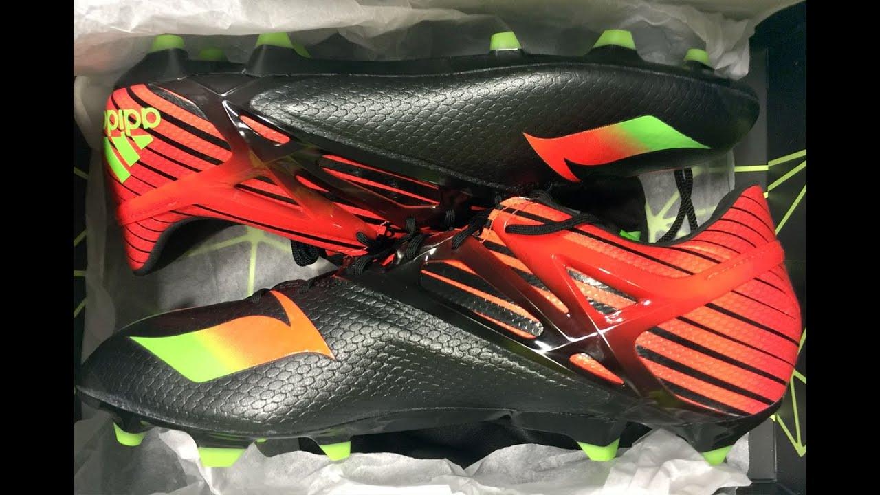 Adidas Messi 15.1 (black core) Lionel Messi exklusiv Schuhe