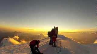Mont Blanc solo climbing, Goûter route