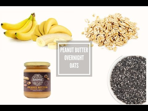 Peanut Butter Overnight Oats Recipe | Loved By Steph