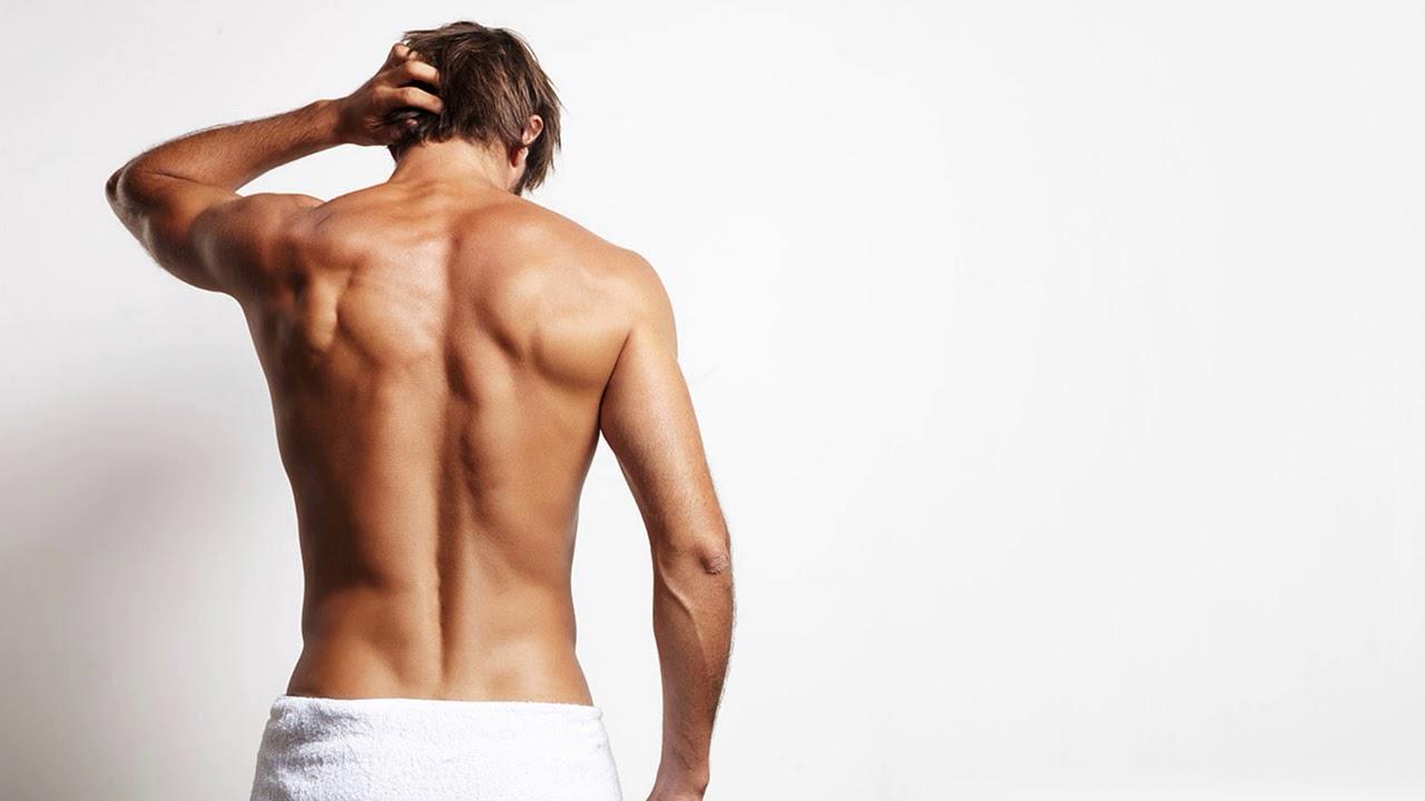 фото красавцев со спины свободного