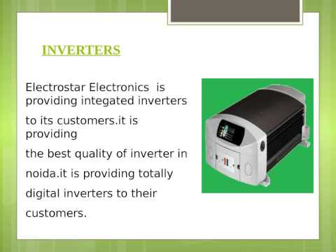 Best Manufacturing Company in NOIDA Electrostar Electronics