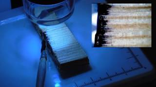 Водовытесняющие свойства материала Жидкий пергамин под микроскопом(, 2014-02-12T04:11:53.000Z)