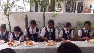 10th class 2015 16 batch farewell lunch 2 at holy mary high school ferozeguda