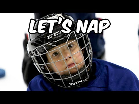 Kim Faris  - 4 Year Old Hockey Player Mic'd Up During Practice