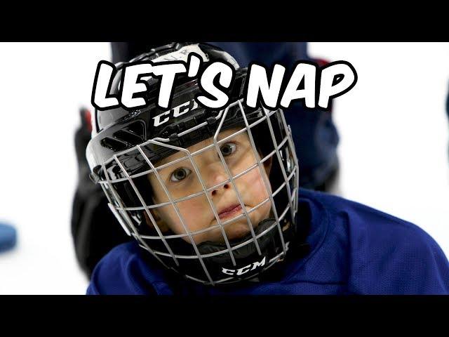 4 Year Old Mic'd up at Hockey