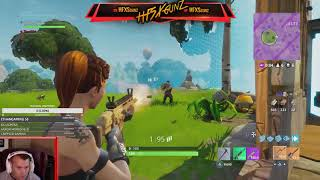 LIVE FORTNITE INSANE DUO CLUTCH FOR THE WIN!!