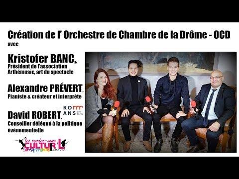 Les RDV Cultur'L   Orchestre de Chambre de la Drôme