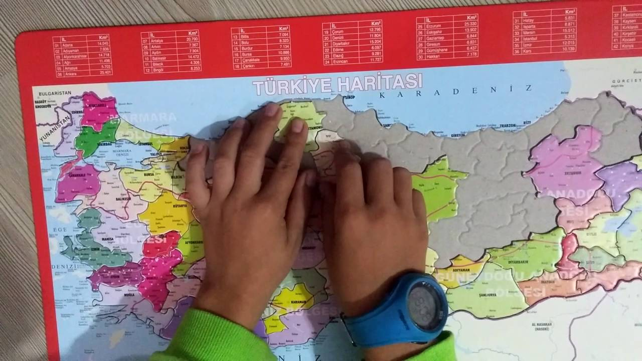 Türkiye Haritası Boyama Oyunu Gazetesujin