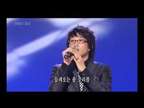 2008년 가요무대 김상기 - 전선야곡 (데뷔)20080505