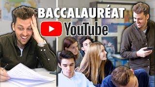 Des élèves passent le Bac YouTube