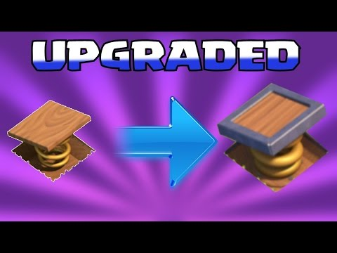 Clash Of Clans - UPGRADING LVL 5 TRAPS!! (Monies trap)