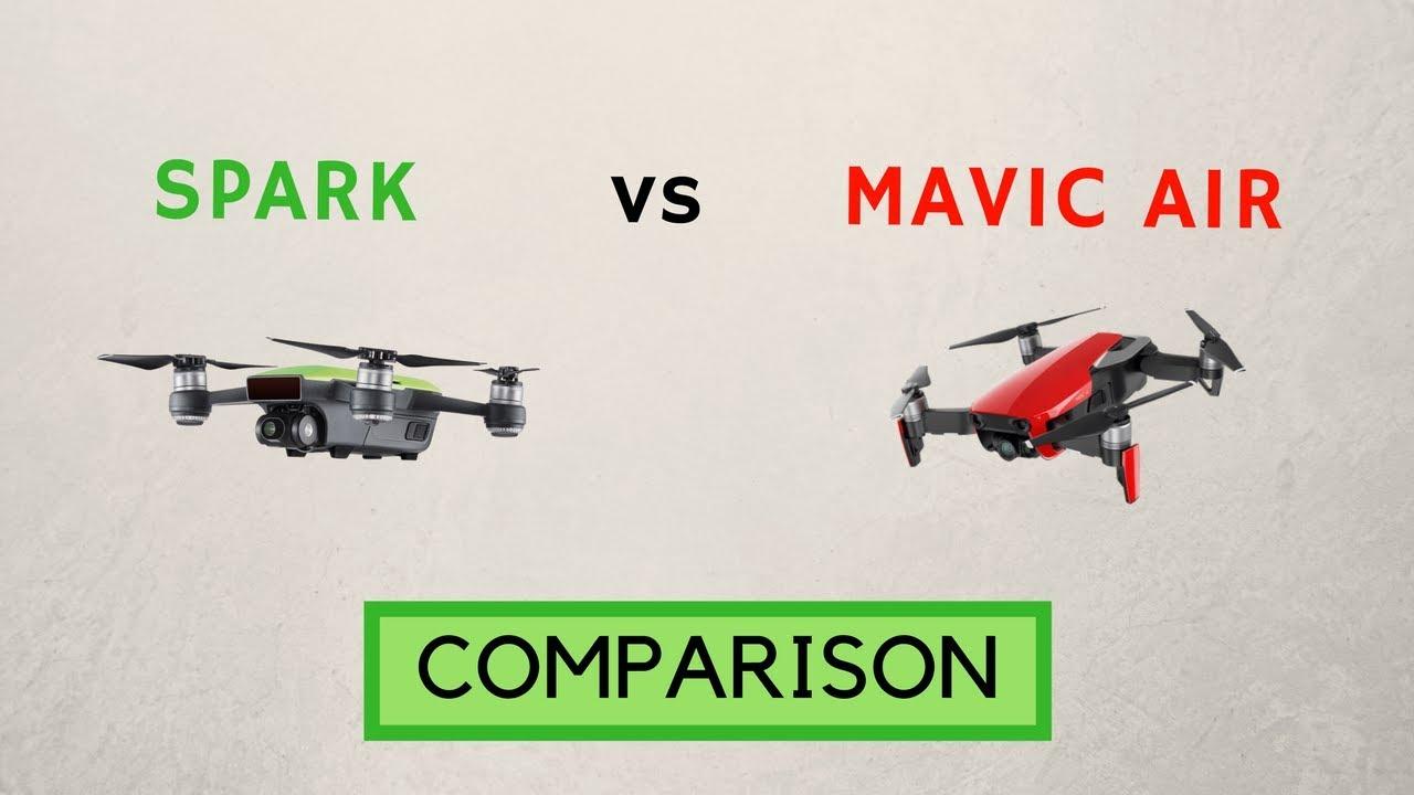 DJI Spark Vs Mavic Air Full Comparison