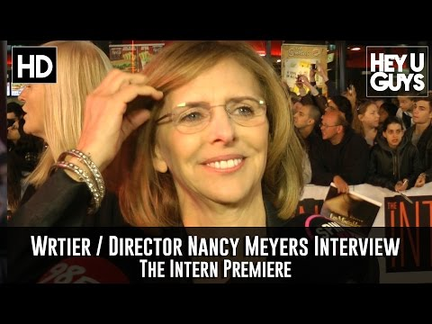Writer Director Nancy Meyers Premiere Interview - The Intern