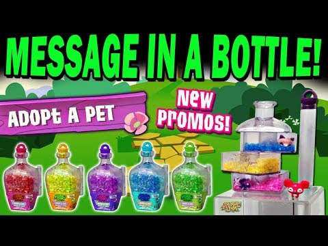 OMG! Message In A Bottle - Adopt A Pet Promos! Animal Jam Wins!