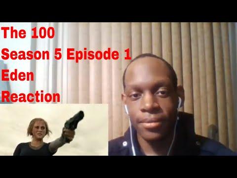 The 100 Season 5 Episode 1 Eden Reaction