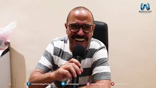 لقاء الفنان أشرف عبد الباقى بالكُتاب