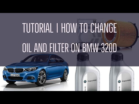 How To Change The Oil And Air Filter Of Bmw 320d F30 2015 17