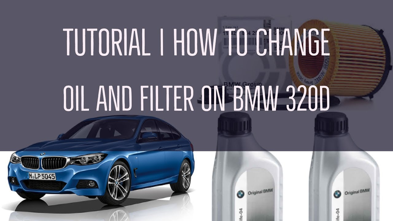 How to change the oil and air filter of bmw 320d f30 2015 17 tutorial