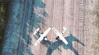 DroneSelfie | Cozumel | Back stage of FlyCozumel PhotoSession