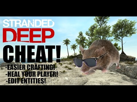 STRANDED DEEP CHEAT | HOW TO EDIT FILES IN UNDER 5 MINUTES!: This video provides a brief but informative tutorial on how to edit the files in 'Stranded Deep'. Once done, you can: -Have easier crafting recipies -Edit your player's stats -Edit animals and entities -Give yourself items Thanks for watching! -----------------------------STORY----------------------------------------------- Take the role of a plane crash survivor stranded somewhere in the Pacific Ocean. Come face to face with some of the most life threatening scenarios that will result in a different experience each time you play. Scavenge. Discover. Survive. -----------------------------SOCIAL MEDIA------------------------------------ Twitter: https://twitter.com/InfamouseYT