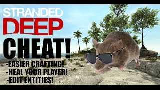 STRANDED DEEP CHEAT | HOW TO EDIT FILES IN UNDER 5 MINUTES!