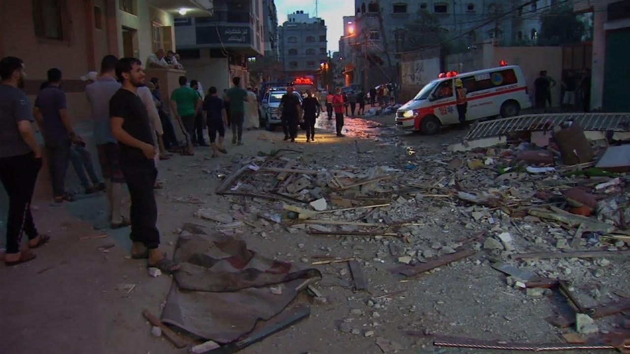 VIDEO: Israel, Hamas trade deadly fire as confrontation escalates