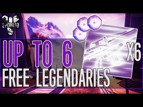 "Destiny: Free Legendary Engrams Every Week - ""How to Get Legendary Engrams"" - How to farm Engrams"