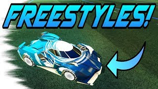 Rocket League Goals: FREESTYLES with the SAMURAI CAR! (New Triumph Crate Item Highlights)