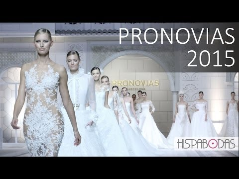 Pronovias 2015 Fashion Show