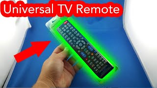✅ 3$ Universal TV remote control from AliExpress Unboxing