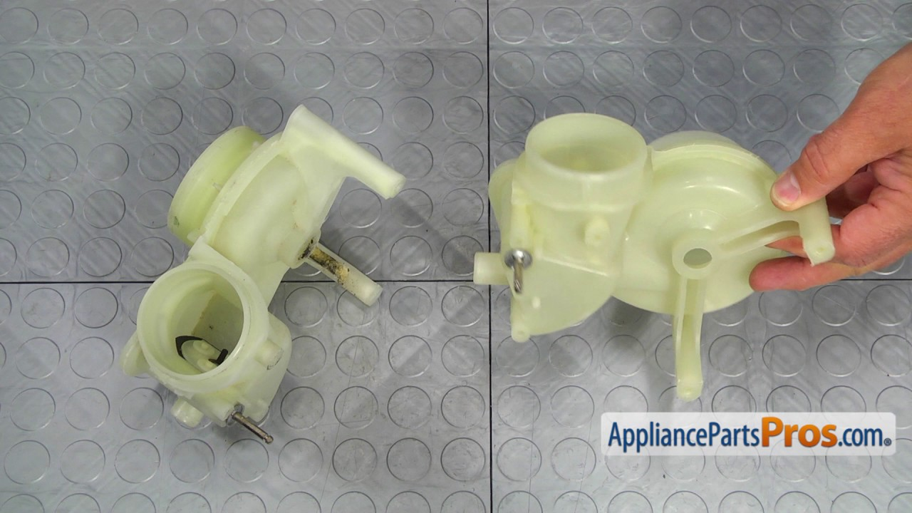 How To Ge Pump Housing Wd19x10020 Youtube