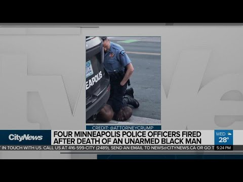 Four Minneapolis Police Officer Fired After Death Of Black Man