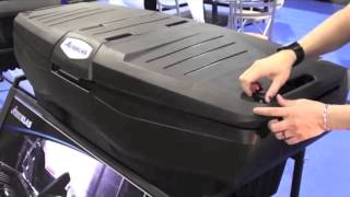 Aeroklas truck box - opens on 3 sides :SEMA 2013